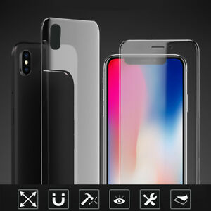 For iPhone XS Max XR X 8 Screen Protector Soft Nano Full Cover Hydrophilic Film