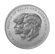 1981 Charles and Diana Royal Wedding 25p Crown [Ref: 923K]