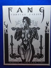 ~~ FANG VAMPIRE CHASER PORTFOLIO #81/950 BY KEVIN TAYLOR 1994 ~~