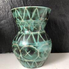Rare et Beau vase de VALLAURIS  de Robert PICAULT 16,5 cm