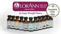 LorAnn 1 oz SUPER STRENGTH FLAVORING Hard Candy Flavor Flavors Oils Extracts
