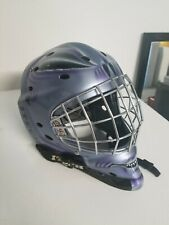 Itech goalie mask alien used in great condition with storage bag