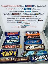 PERSONALISED FATHERS DAY CHOCOLATE POEM BOX