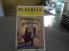 JULY 1996 - Plymouth Theatre Playbill - A Delicate Balance - Rosemary Harris