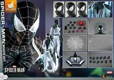 IN STOCK HOT TOYS VGM36 SPIDER-MAN (NEGATIVE SUIT) MARVEL'S SPIDERMAN