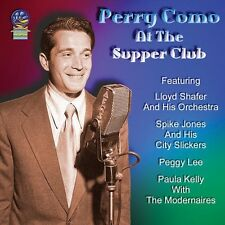 Perry Como - At the Supper Club [New CD]
