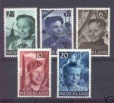 Nederland 573-577 Kinderzegels  1951  luxe postfris
