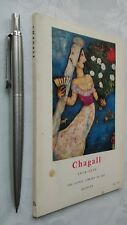 CHAGALL 1918-1939 FRANCOIS MATHEY 1ST/1 SB 1960 THE LITTLE LIBRARY OF ART 28