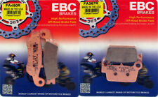 EBC R front & rear brake pad set - 2008-2018 Yamaha YZ125 YZ250 YZ250F YZ450F