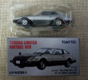 Tomica Limited Vintage Neo Nissan Fairlady Z-T Turbo LV-N236a Year 2013 with Box