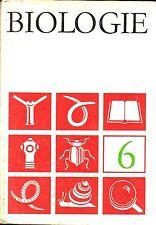 DDR Lehrbuch 6. Klasse/Biologie/Volk und Wissen 1970