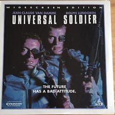 Laserdisc Universal Soldier AC3 Dolby Digital Sealed.