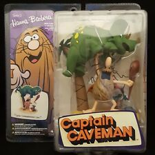 MCFARLANE TOYS HANNA BARBERA SERIES 2 CAPTAIN CAVEMAN WITH DINOSAUR FIGURE SET
