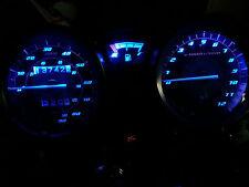 BLUE YAMAHA YBR125 led dash clock conversion kit lightenUPgrade
