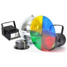 Spiegelkugel Discokugel Stroboskop Lichteffekt Par 36