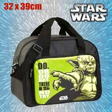 OFFICIAL Star Wars Yoda 20L Sports Travel Weekend Gym Bag w/ Shoulder Straps