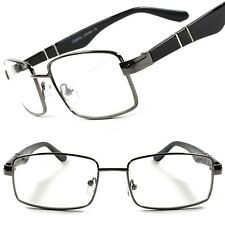 Modern Stylish Rx-able Prescription Mens Womens Sexy Clear Lens Eye Glasses C28