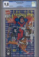 New Mutants  #100 CGC 9.8 Last Issue KEY: NEW CGC FRAME: Free Shipping