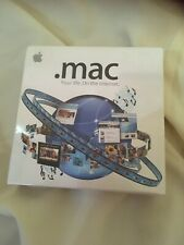 Mac 4.0 Apple Mac your life on the internet software.NEW.SEALED