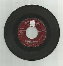 JERRY FULLER Tenn Waltz / Charlene, original Challenge 45 vinyl record, 1959