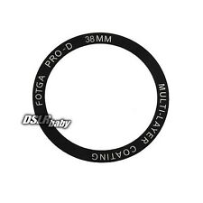 Fotga PRO-D Multi-Coating Bordless black Protective MC UV Filter 38mm 38mm New
