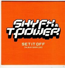 (FI889) Shy FX & T-Power, Set It Off sampler - 2002 DJ CD