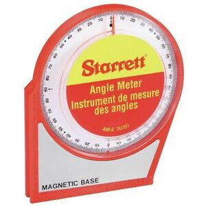 Starrett 0 to 90° Magnetic Angle Meter / Finder AM-2