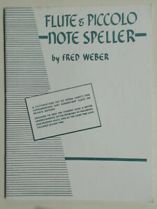 Flute & Piccolo Note Speller by Fred Weber 1951