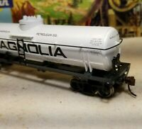 HO Athearn Magnolia 40' tank car new rtr series metal wheels