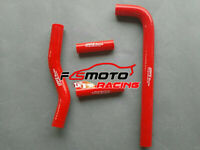 RED FOR YAMAHA YZF250 WR250 WR250F 2002 2003 2004 2005 SILICONE RADIATOR HOSE