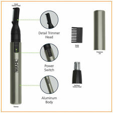 Nose Ear Trimmer Neck Hair Eyebrow Groomer Clippers Wahl Micro Personal Shaver