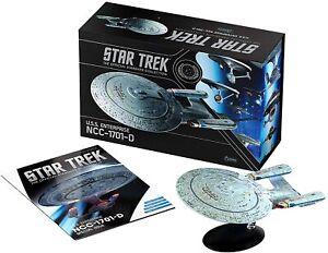 "Star Trek USS Enterprise NCC-1701-D Collector's Edition XL 8.5"" w/ Mag Eaglemoss"