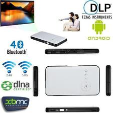 Mini WiFi DLP LED Beamer Projektor+Smart TV BOX XBMC für Android IOS Laptop PC