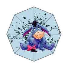New Personalized Custom Eeyore Donkey Unisex Fashion Portable Foldable Umbrella
