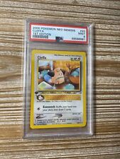 PSA 9 Mint Cleffa 1st Edition Neo Genesis Best Deal Fast Shipping