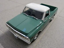 Chevrolet c-10 1968 pick up Truck verde blanco limitado Acme maqueta de coche 1:18