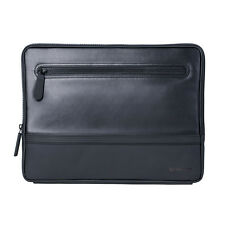 Mozo Sneaker Microsoft Surface Sleeve Zippered Case, Black Leather QF6-00201