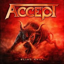 ACCEPT - BLIND RAGE  CD + BLU-RAY NEU