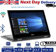 "Dell Inspiron 5378 13.3"" Touch Laptop Intel 7th-Gen i3 4GB 256GB SSD Windows 10"