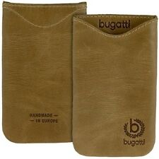 Bugatti Skinny Desert braun Leder Tasche f Apple iPhone 4 / iPhone 4s Case Etui