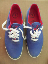 Vintage POLO Ralph Lauren RL-67 Royal Blue Canvas Tennis Shoes Sneakers - 10.5