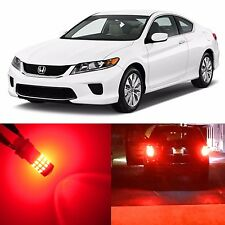 Alla Lighting Brake Turn Signal Light Red LED Bulbs for 03~17 Honda Accord Civic