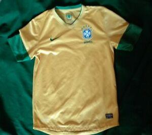 Brasil 2012-2013 football shirt maglia calcio Brasile nike S camiseta jersey
