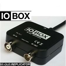 IO-LINK BOX RF MODULATOR OUTPUT FOR SKY  HD BOX USE WITH MAGIC EYE BRAND NEW