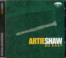 Artie Shaw: So Easy - CD