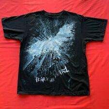 Batman Men's The Dark Knight Rises Big Graphic T-Shirt Black Large