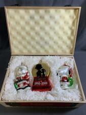 Lot of 3 Polonaise Kurt Adler Peanuts Christmas Ornaments 2000 Limited Edition