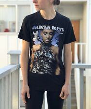 Alicia Keys 2010 Graphic Shirt The Element of Freedom Black Size Small Tee