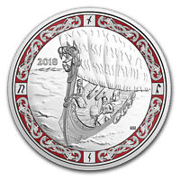 2018 Canada 1 oz Silver $20 Norse Figureheads: Viking Voyage - SKU#163657