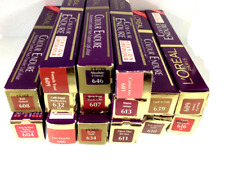 LOREAL COLOUR ENDURE LIPSTICK EXCLUSIVE COLORS PACK OF 12 * JOB LOT *